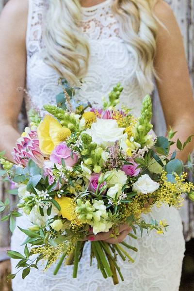 Bridal Party Wedding Flowers