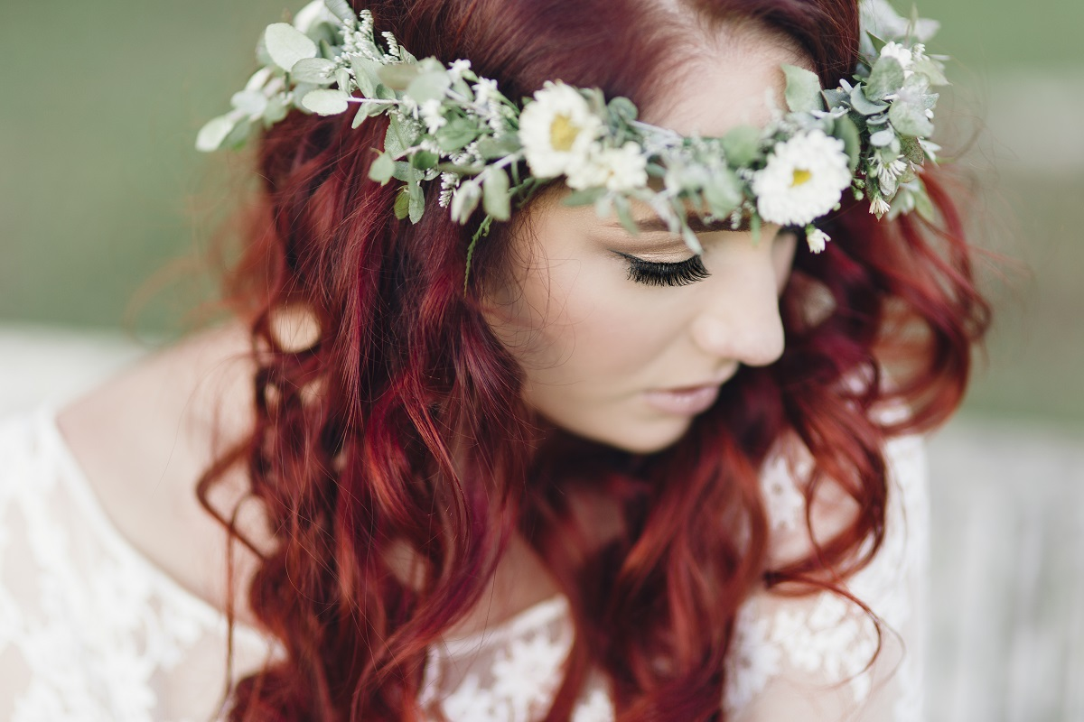 Native Country wedding flowers shoot